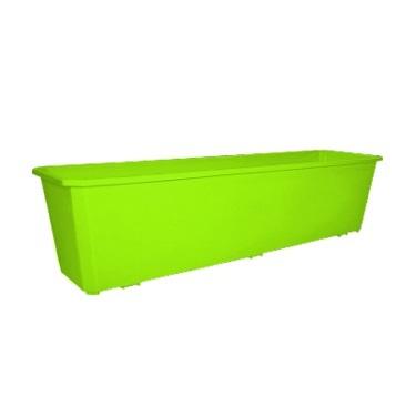 Ящик балконный с поддоном 60 см салатовый *20 купить оптом и в розницу