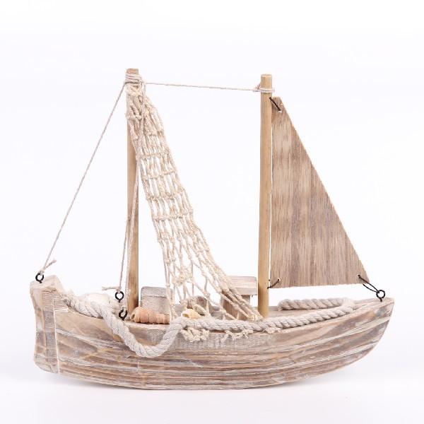 Модель корабля ″Рыбацкая лодка″ 23см 169А купить оптом и в розницу