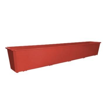 Ящик балконный 100 см терракотовый*20 купить оптом и в розницу