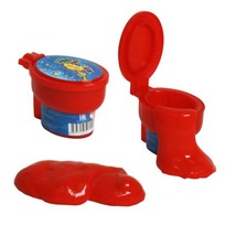 Жвачка для рук Мелкие пакости издающая звуки 1toy Т59110 купить оптом и в розницу