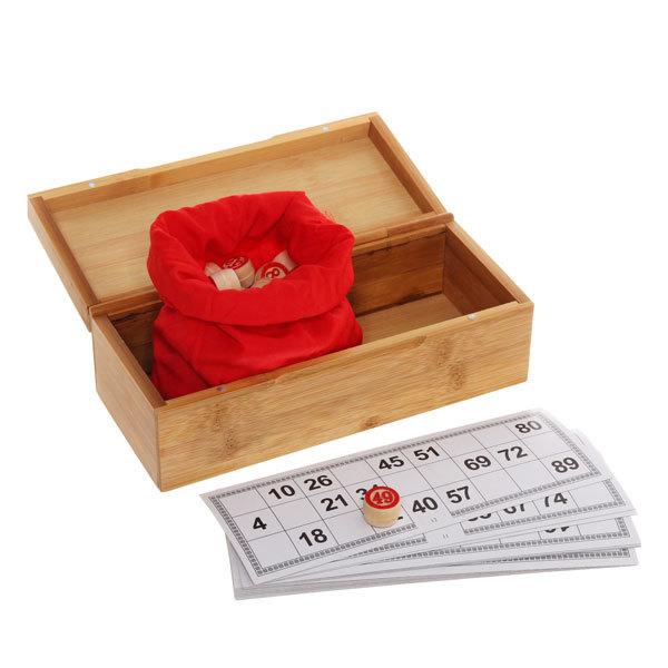 Игра настольная ″Лото″, деревянная коробка 23.5*10 см купить оптом и в розницу