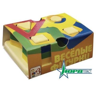 Логич.игрушка Веселые фигурки 801 /Норд/24/ купить оптом и в розницу