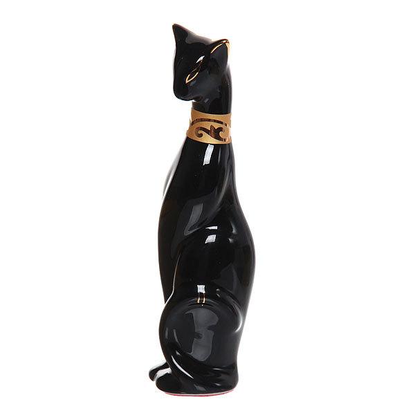 Статуэтка керамическая ″Кошка Фараона ченая″, 15см купить оптом и в розницу