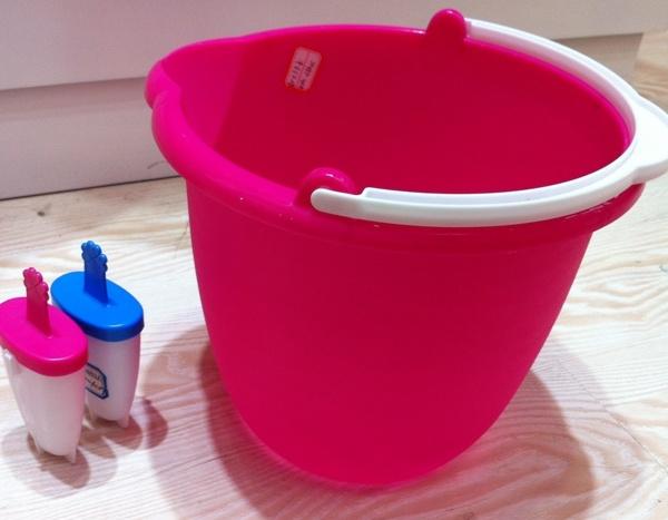 Ведро пластиковое, голубое 5 л купить оптом и в розницу
