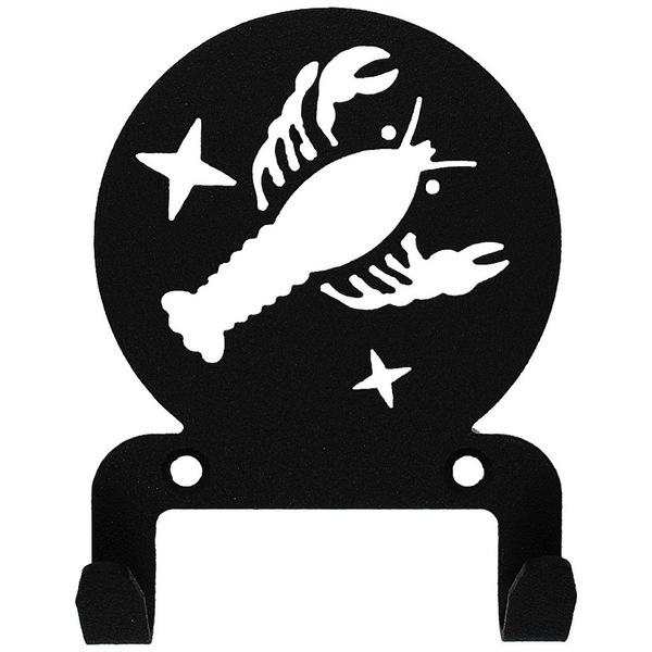 Крючок универсальный, серия ″Астрология″, модель ″Рак - 2″, цвет черный купить оптом и в розницу