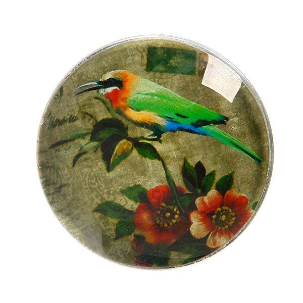 Магнит из стекла ″Птицы″ 4 см купить оптом и в розницу