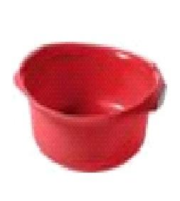 Миска круглая Curver  9 л красный/серебро/ 6 шт купить оптом и в розницу