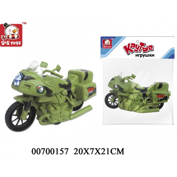 Мотоцикл инерц. 42910EBR/1828-55G/100700157 в пак. купить оптом и в розницу