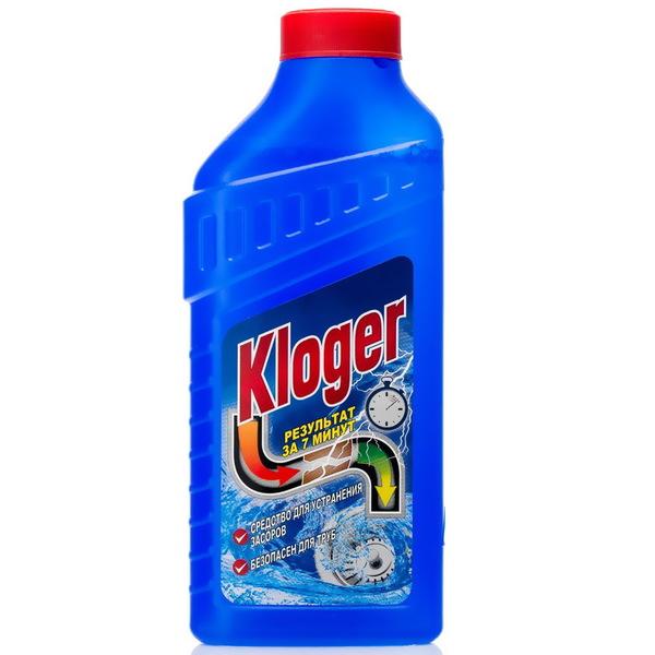 _Kloger ср-во чист.Для устранения засоров гель, 500мл (2412) купить оптом и в розницу
