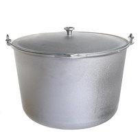 Котел походный 30 л литой алюминий КМ-кп300 купить оптом и в розницу