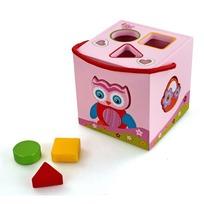 Дер. Логич.игрушка Сортер Волшебный кубик 76423 купить оптом и в розницу