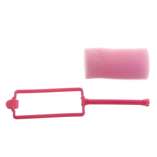 Бигуди поролоновые с зажимом 8шт, цвет микс, d=30мм купить оптом и в розницу