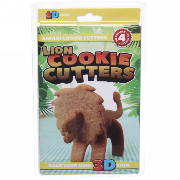 Форма для печенья 3D ″Лев″ купить оптом и в розницу