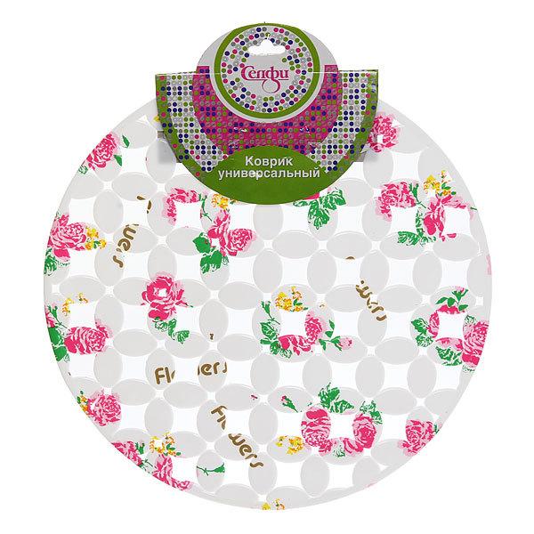 Коврик для раковины 29см ″Цветы″ Селфи купить оптом и в розницу