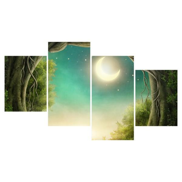 Картина модульная полиптих 60*129 Природа диз.9 12-03 купить оптом и в розницу
