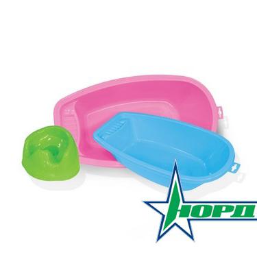Ванна детская Большая розовая 154/2 Норд /16/ купить оптом и в розницу