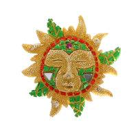 Магнит из полистоуна ″Мозаика″ солнце просыпается купить оптом и в розницу