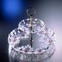 Этажерка 2-х ярусная КАРМЭН роз. 240 мм  (1/6) купить оптом и в розницу
