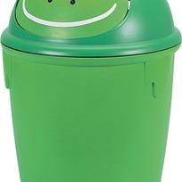 """Контейнер для мусора """"Лягушка"""" Curver зел./4 шт 265*265*370 купить оптом и в розницу"""