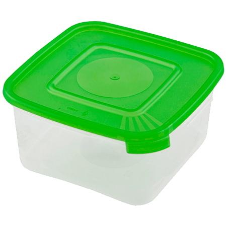 Контейнер пластиковый пищевой ″Каскад″ 0,46л квадратный *36 купить оптом и в розницу