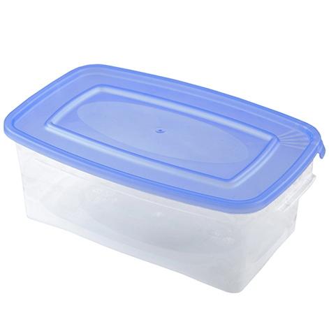 Контейнер пластиковый пищевой ″Каскад″ 1л прямоугольный *46 купить оптом и в розницу