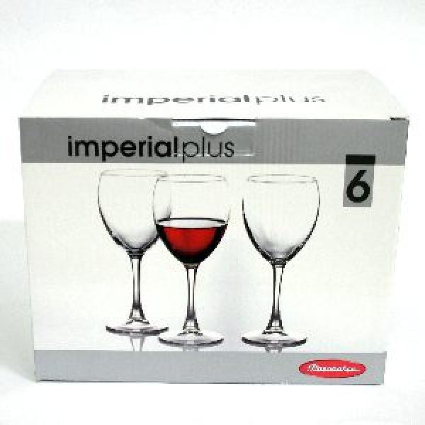 Набор фужеров д/красного вина ИМПЕРИАЛ ПЛЮС 6 шт. 240 мл. (1/4) купить оптом и в розницу