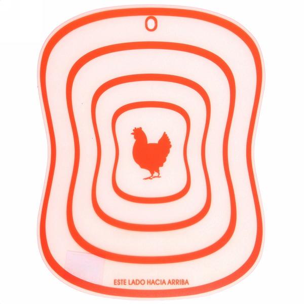 Доска разделочная пластиковая гибкая 30*23см ″Птица″ купить оптом и в розницу
