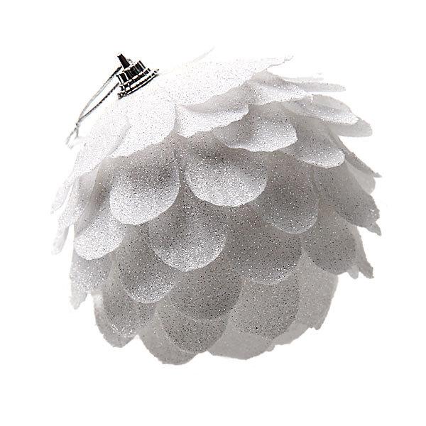 Новогодний шар ″Зимняя шишка″ 10см купить оптом и в розницу