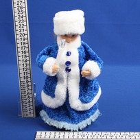 Снегурочка музыкальная 25см со свечой купить оптом и в розницу