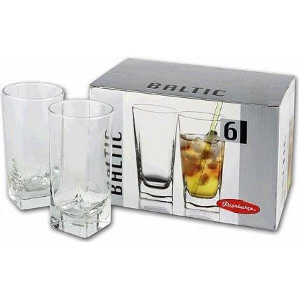 Набор стаканов д/коктейля CARRE/БАЛТИК 6 шт. 290 мл. выс. (1/8) купить оптом и в розницу