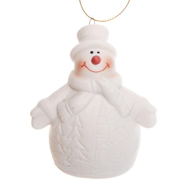 Фигурка с подсветкой ″Снеговичок морозный″ 7см купить оптом и в розницу