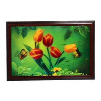 Картина голограмма 40*60см ″Тюльпаны″ купить оптом и в розницу