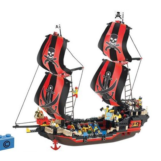 Констр-р 38-0129 Пираты 632 дет.в кор. купить оптом и в розницу