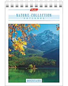 """Блокнот А6 80л.нелин.,гребень,карт.обл.HATBER, """"Nature Collection"""" купить оптом и в розницу"""