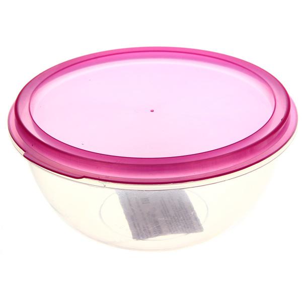 Контейнер пластиковый пищевой 0,8л, круглый купить оптом и в розницу