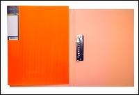 """Папка с зажимом HATBER """"HD"""" Неоново-оранжевая, 17мм купить оптом и в розницу"""