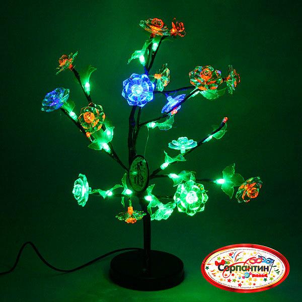 Световое дерево LED 48см, ″Пион″ RB-3 купить оптом и в розницу