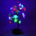 Световое дерево LED 38 см ″ Куст Розы″ RB( красный, синий) купить оптом и в розницу