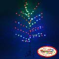 Световое дерево LED 150см ″Сердечко″ RB( красный, синий) купить оптом и в розницу