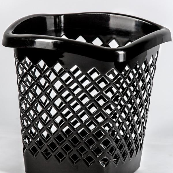 """Корзина для мусора """"Офис"""" квадратная  Ар-пласт  *10 купить оптом и в розницу"""