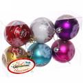 Новогодние шары ″Обезьянка в колпачке″ 6см (набор 6шт.) купить оптом и в розницу