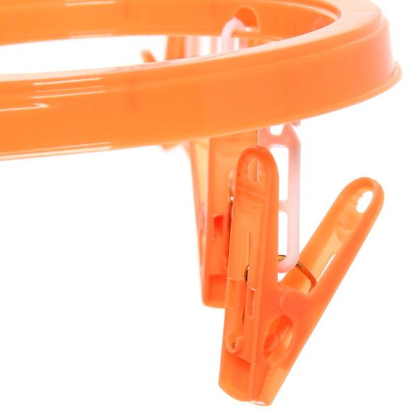 Сушилка для белья подвесная с прищепками 055 (16 прищепок) купить оптом и в розницу
