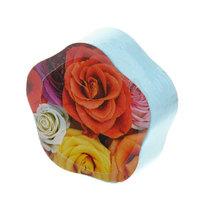 Полотенце прессованное 31*68см Цветок однотонное купить оптом и в розницу