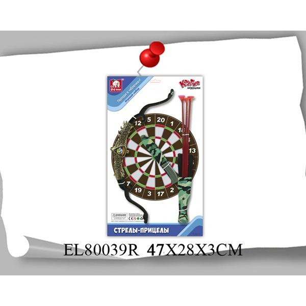 Лук со стрелами 80039ELR на карт. купить оптом и в розницу
