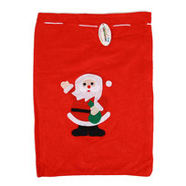 Мешок подарочный 30х40 см ″Дед Мороз″ купить оптом и в розницу