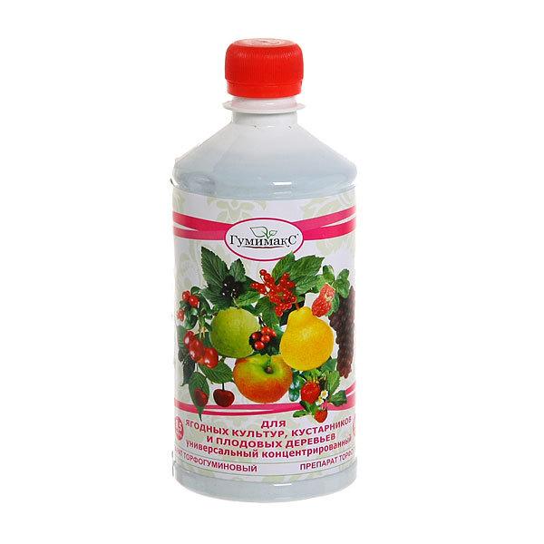 Препарат универсальный 0,5 л Ягодные культуры, кустарники и плодовые деревья Гумимакс купить оптом и в розницу