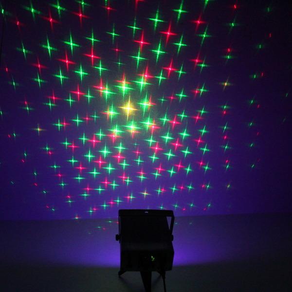 Световой прибор Лазер WS-020 RGY, mic+авто, с 9LED подсветкой, ПДУ купить оптом и в розницу