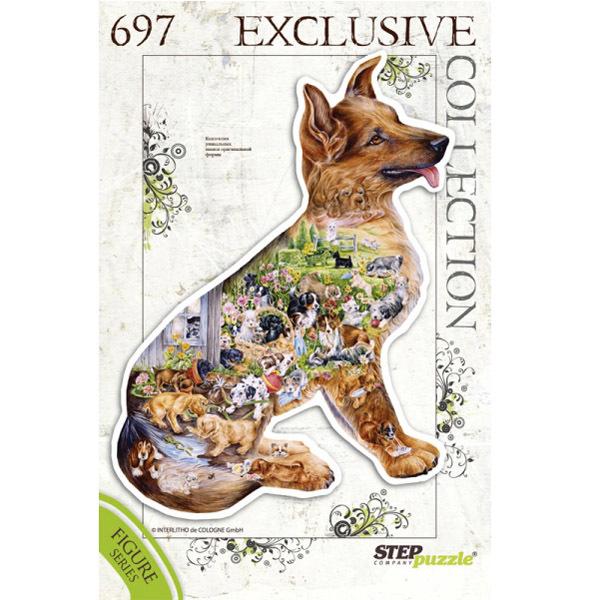 Пазл 697 Собака 83503 Степ /9/ купить оптом и в розницу