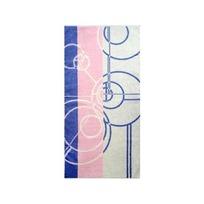 Махровое полотенце 50*100см жемчужно-фиолетовое пестротканное пляжное ЖК100-4-019-051 купить оптом и в розницу