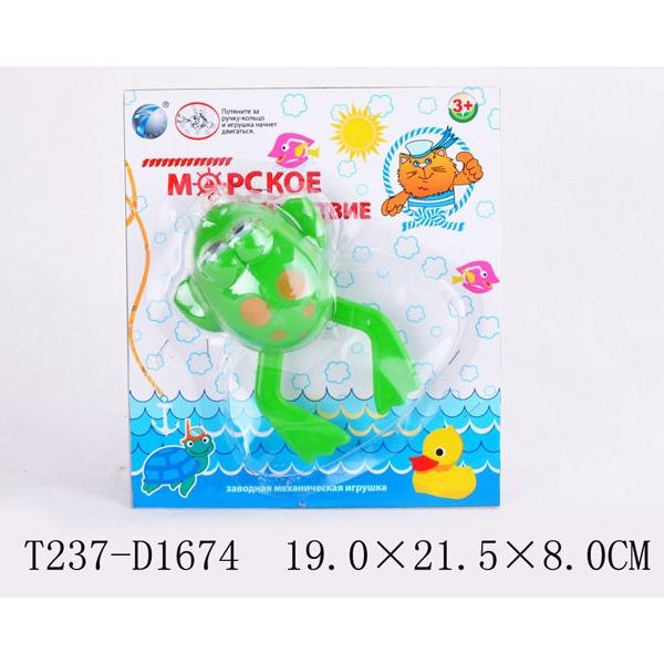 Игрушка заводная Лягушка 1378-10YS купить оптом и в розницу